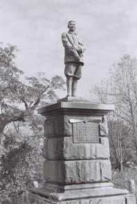 武石浩玻の銅像2(S)