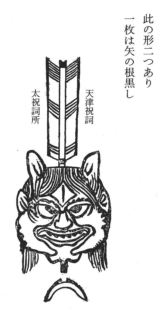 札(矢大臣)