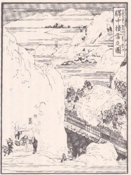 北越雪譜(挿絵3-1)
