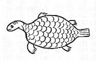 千山鯉の図